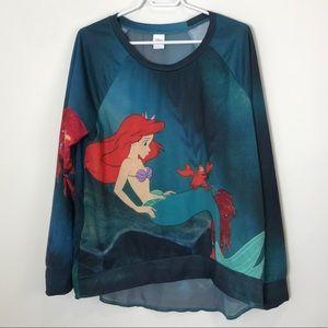 Disney   Little Mermaid Sweatshirt   L